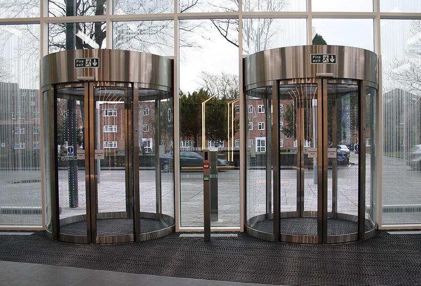 EA Circle Sliding Door London