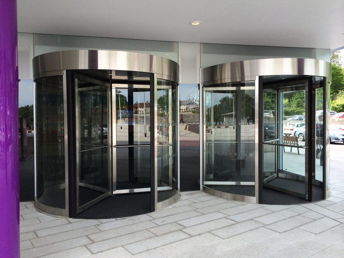 Framed Revolving Doors