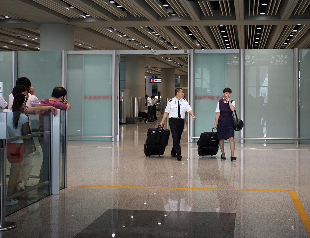 KS1000 Sliding Door at an Airport