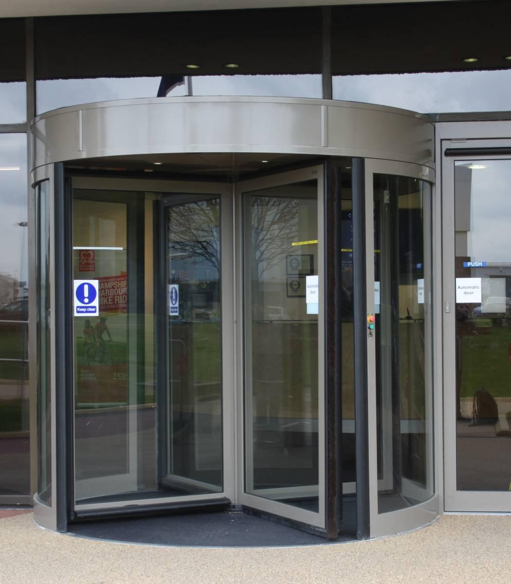 Framed Revolving Doors Revolving Door Company