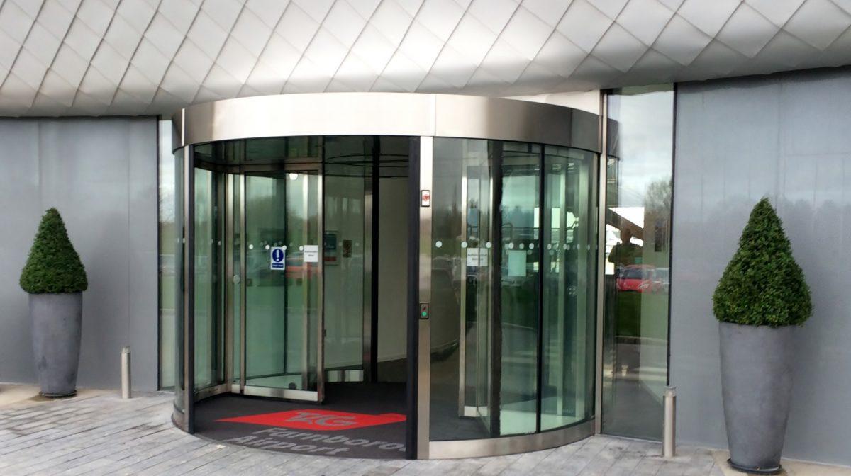 Airport High Capacity Revolving Door