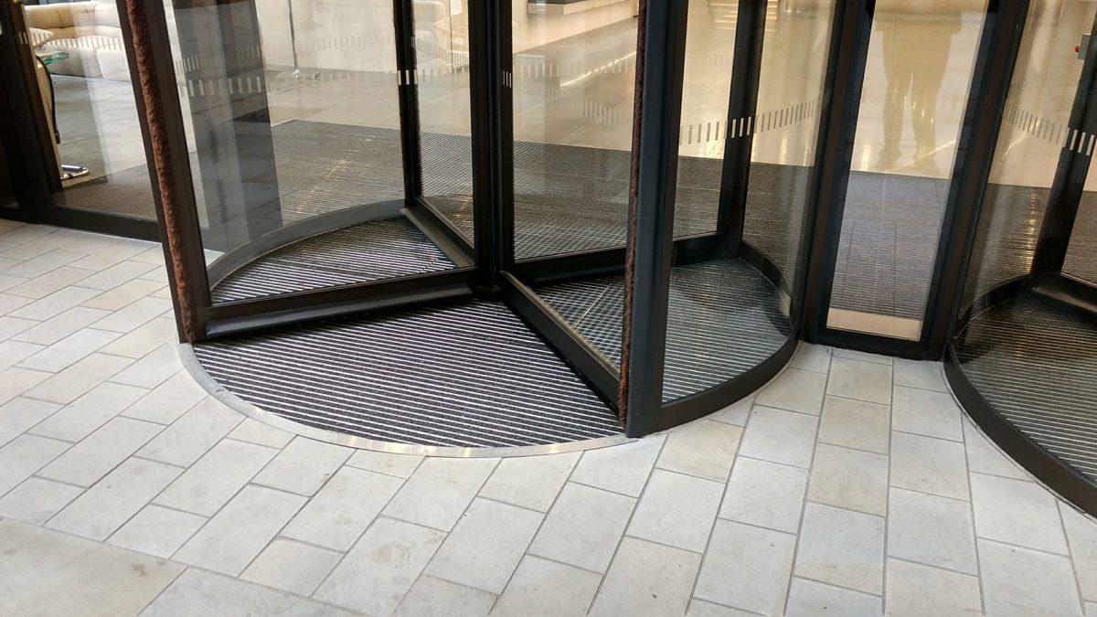 Revolving Door floor ring at St James Market in London