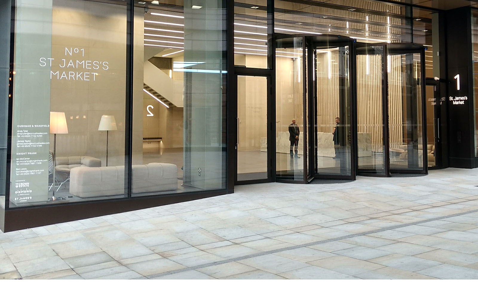 Revolving and Sliding Doors from EA